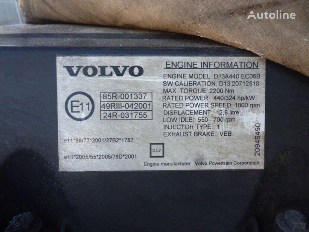 VOLVO kamyon için Volvo D13A440 ECO6B motor