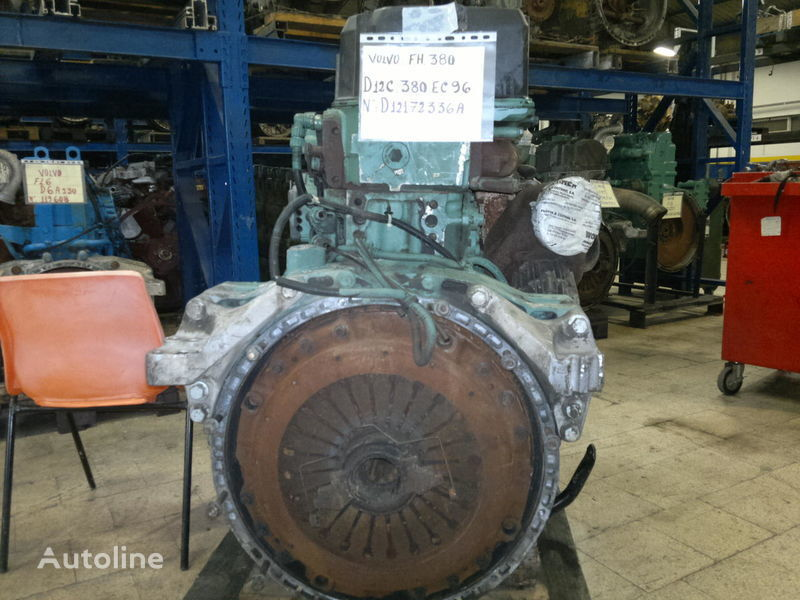 VOLVO FH12 / L180 kamyon için D12C-380HP Volvo D12C motor