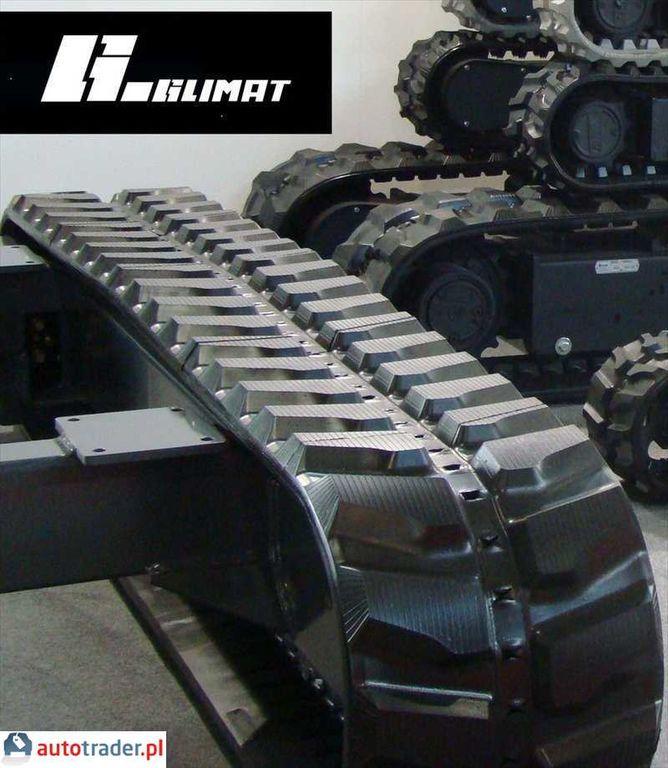 yeni ITR GĄSIENICA GUMOWA 250X109X35W 2016r ITR İş makinaları için paletler