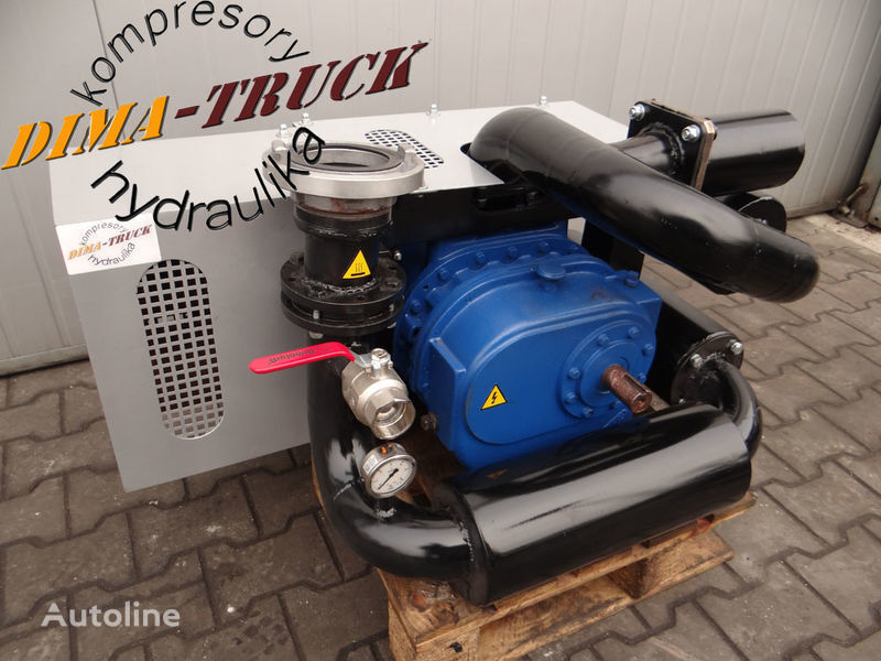 yeni animal feed compressor kamyon için kompresor paszowy paszowóz gardner denver pinömatik kompresör