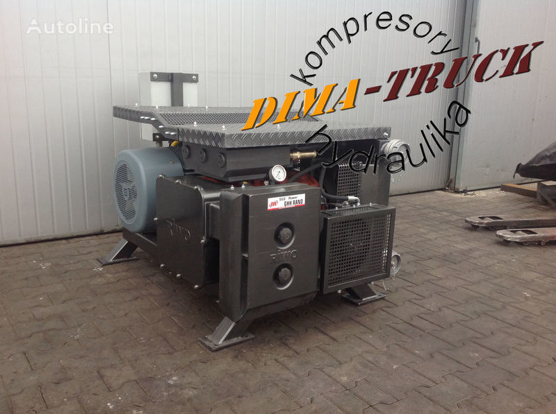 electric agregat kamyon için agregat ghh, drum silokompresor pinömatik kompresör