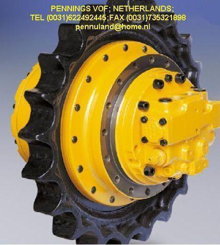 yeni ekskavatör için all brands FINAL DRIVE,reducer,trackmotor,rupsmotor,eindaandrijving poyra