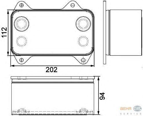 yeni DAF XF.CF tır için DAF 1667565.8MO376733421 radyatör
