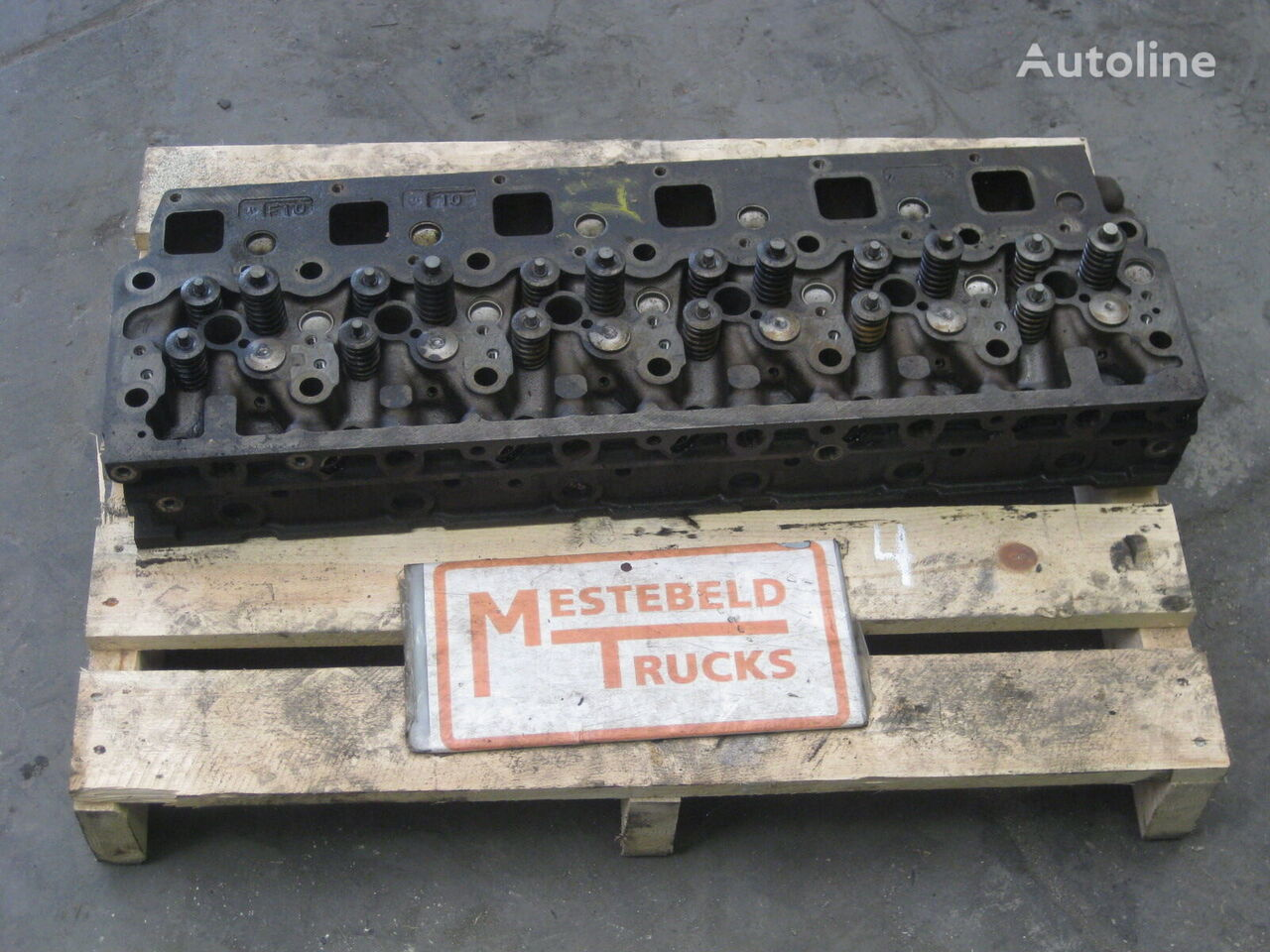 MERCEDES-BENZ Atego kamyon için MERCEDES-BENZ Cilinderkop silindir bloğu