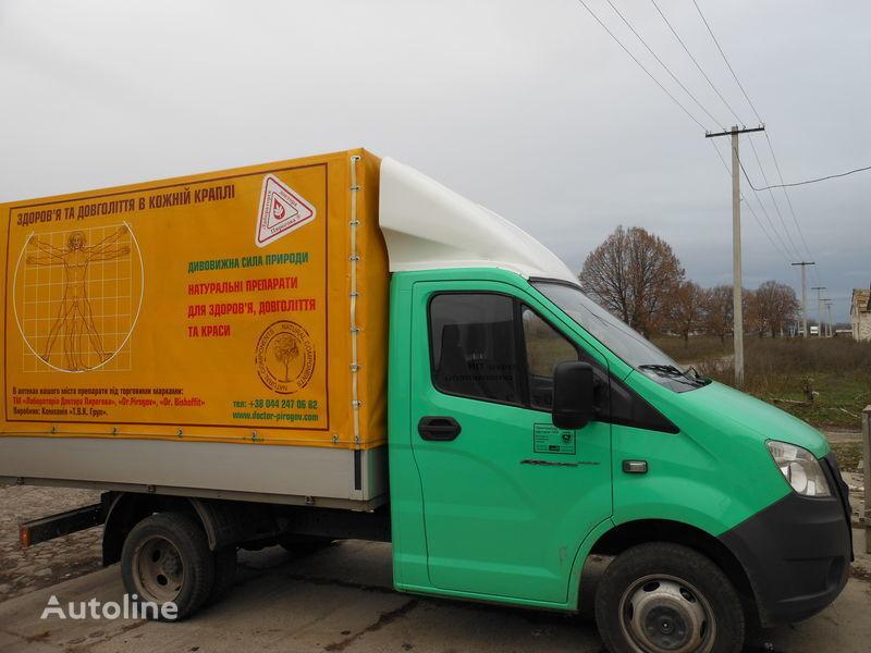 yeni GAZ NEXT kamyon için spoiler