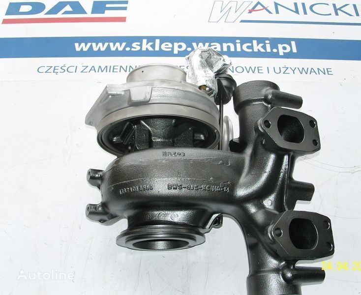 DAF  XF 105, CF 85  tır için DAF TURBO TURBINA,REGENEROWANA, Turbocharger, EURO 5, turbo kompresör