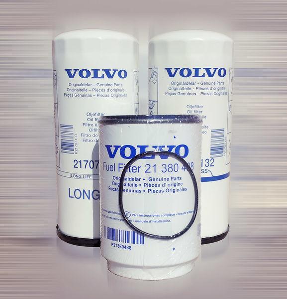 yeni VOLVO FH,FM,FL,FE,FMX tır için Volvo yakıt filtresi