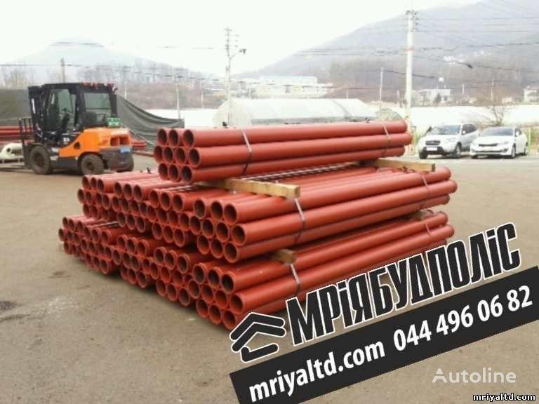 yeni beton pompası için Truby (stalnoy betonovod) Truby dlya podachi betona, dlya betononasosa yedek parça