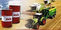 traktör için Universalnoe trasmissionnoe traktornoe i gidravlicheskoe maslo AVIA HYDROFLUID DLZ yedek parça