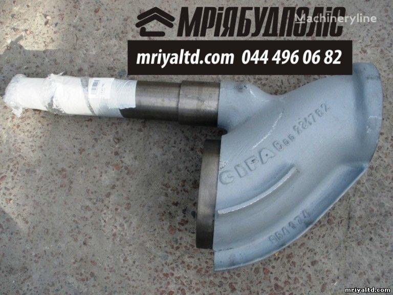 CIFA beton pompası için Italiya CIFA 231782 (403278) S-Klapan (S-Valve) Shiber dlya betononasosa yedek parça