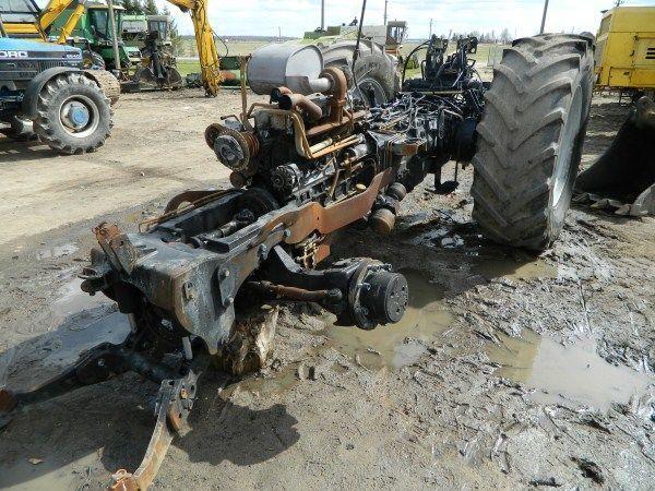 DEUTZ-FAHR AGROTRON 130 traktör için b/u zapchasti / used spare parts yedek parça