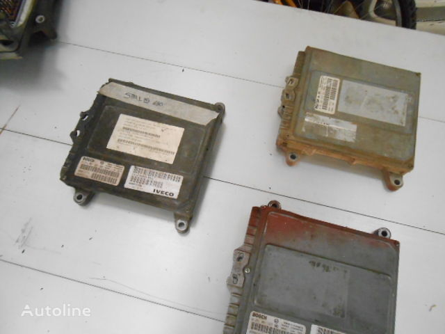 IVECO Stralis/Trakker Euro3 Cursor 10 Cursor 13 kamyon için EDC Bosch 0281001527 yönetim bloğu