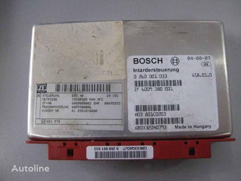 MAN kamyon için Bosch BOSCH yönetim bloğu