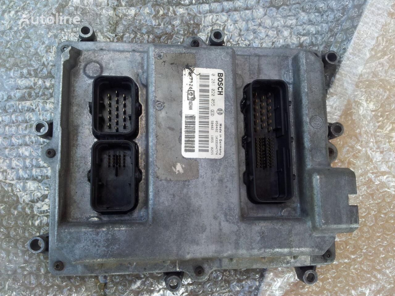 MAN TGA tır için MAN Common Rail EDC, ECU electronic diesel control 0281020055, D2066LF01, 51258037126, 51258337169, 51258037127, 51258337168 yönetim bloğu