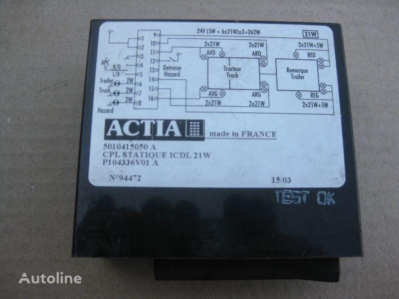 RENAULT kamyon için ACTIA yönetim bloğu